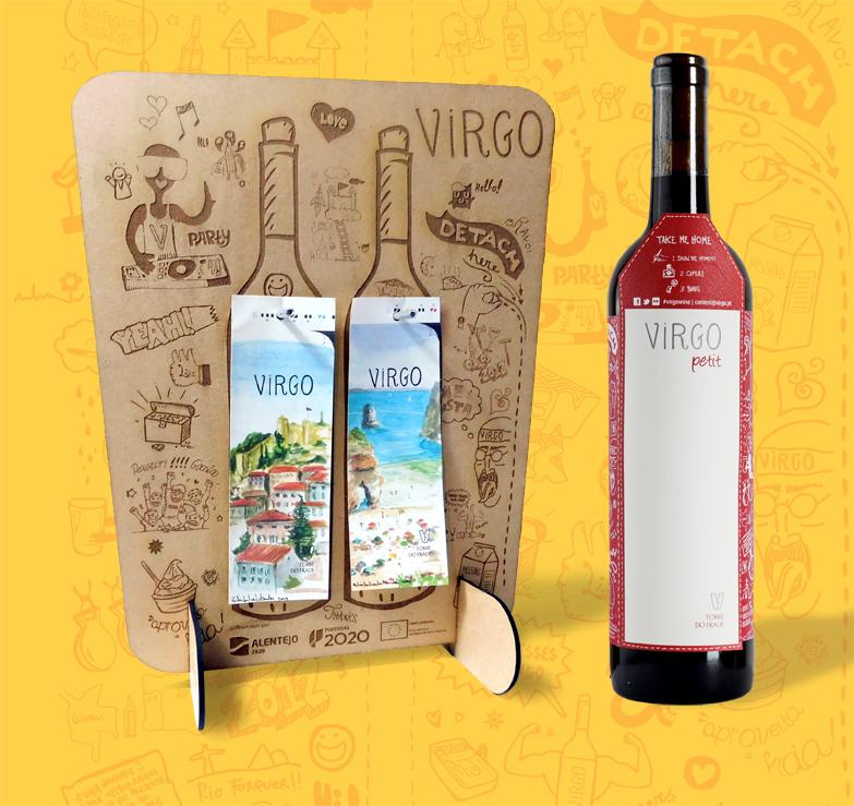 Vinho Virgo - Laser Cut