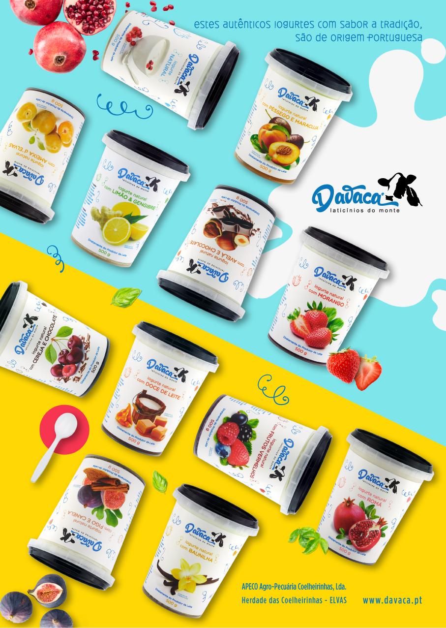 Iogurtes Davaca
